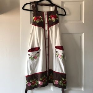 Other - Western shirt apron